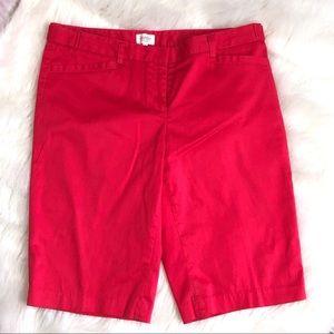 Laundry By Shelli Segal Bermuda Shorts Size 6